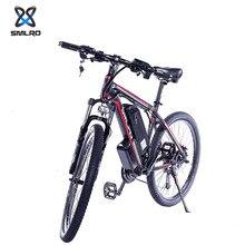 SMLRO vélo électrique vtt Ebike 1000W 26 pouces 48V 18AH 21 vitesse 40 km/h adulte montagne Electromobile batterie au Lithium vélo