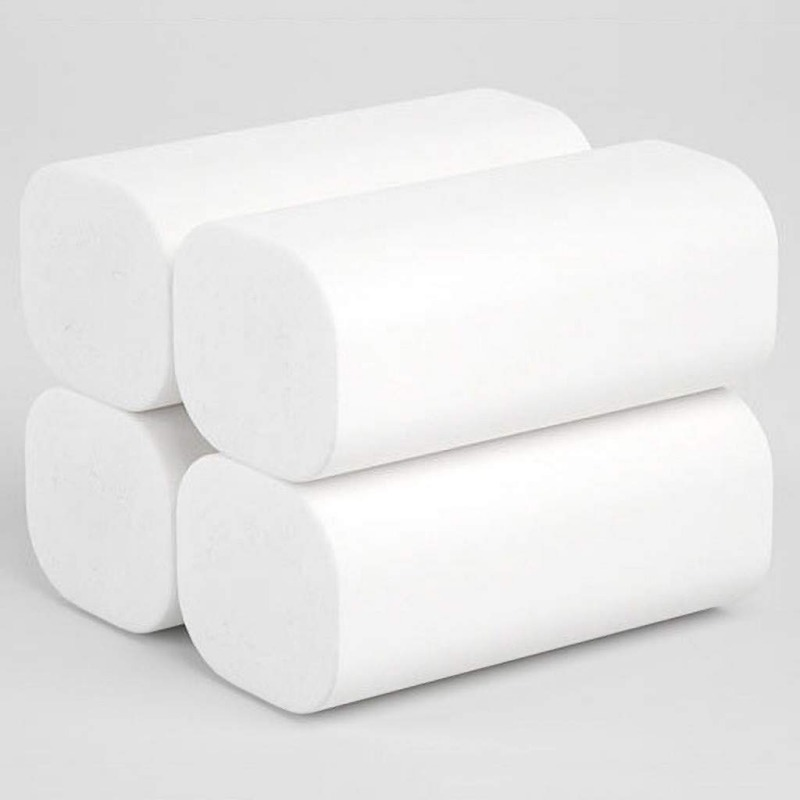 Wholesale 18PCS Toilet Paper Disposable Portable Facial Tissue Cotton Roll Paper Face Cleaning Paper Towel Tissue