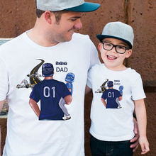 Super dad little man funny t shirts for son daughter father kids tshirt blessed Thanksgiving