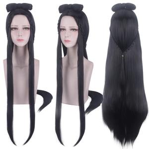 Image 5 - מו Dao Zu שי אנימה ג יאנג יאנלי פאת קוספליי אמן של השטני טיפוח ליל כל הקדושים קוספליי סינטטי שיער
