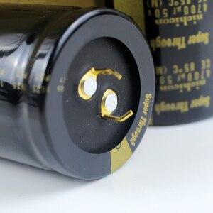 Image 2 - 2 шт., сверхпросвечивающий усилитель NICHICON, 50 в, 4700 мкФ, 35x50 мм, Тип III, 4700 мкФ, 50 в, фильтрующий усилитель, мкФ/50 в, золотые ножки, 4700U