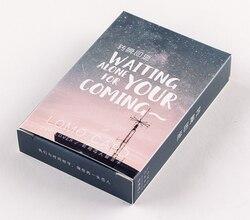 L38-волшебное небо бумажные поздравительные открытки ЛОМО (1 упаковка = 28 штук)