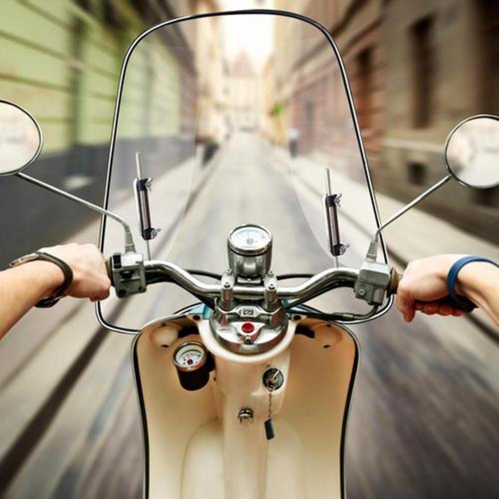 Universal Adjustable Windscreen Wind Deflector Motorcycle Windshield Extension Spoiler Widened Edging Wind Deflector Motorcycle