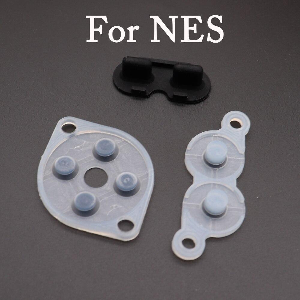 TingDong резиновые запасные части для NES FC PC контроллер Joy Pad кремния проведения резиновая кнопка