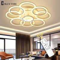 Luminaires Modern Led Ceiling Light For Home Living room Bedroom Dining room Led Cricles Chandelier Ceiling Lamps Lamparas Deco