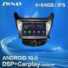 Autoradio Android Carplay, navigation GPS, lecteur d'écran, stéréo, unité centrale, enregistreur Audio, pour Hyundai Elantra MD Avante (2011, 2012, 2013)