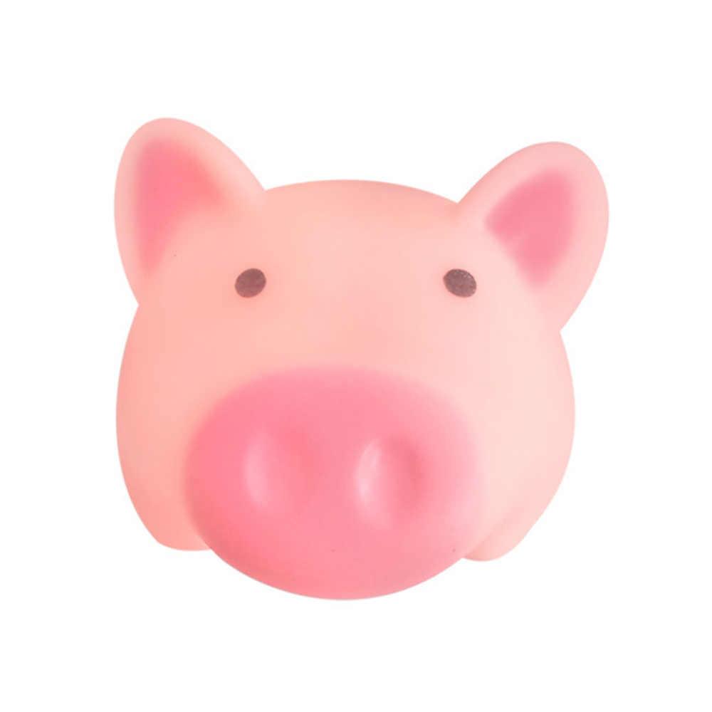 Забавная визжащая Свинка Новинка милый мультфильм Vent Piglet Squeeze игрушка со звуком снятие стресса декомпрессионные подарки гаджеты Новый J71