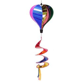 Garden Yard Wind Spinner Hot Air Balloon Hanging for home Festival decor Hot