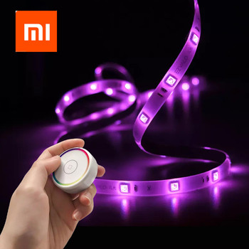Xiaomi Mijia EZVALO Smart Strips Light Colorful RGB Intelligent Light Strips Remote Control with Touch For Home Party Xiami
