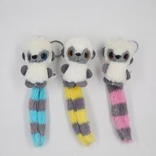 купить Size 7-12CM Approx. , Multi-Colors Animal Plush  , Stuffed Plush Toys , Key chain dolls  Lovely Bee monkey  Toy Kids Gift N22 по цене 96.36 рублей