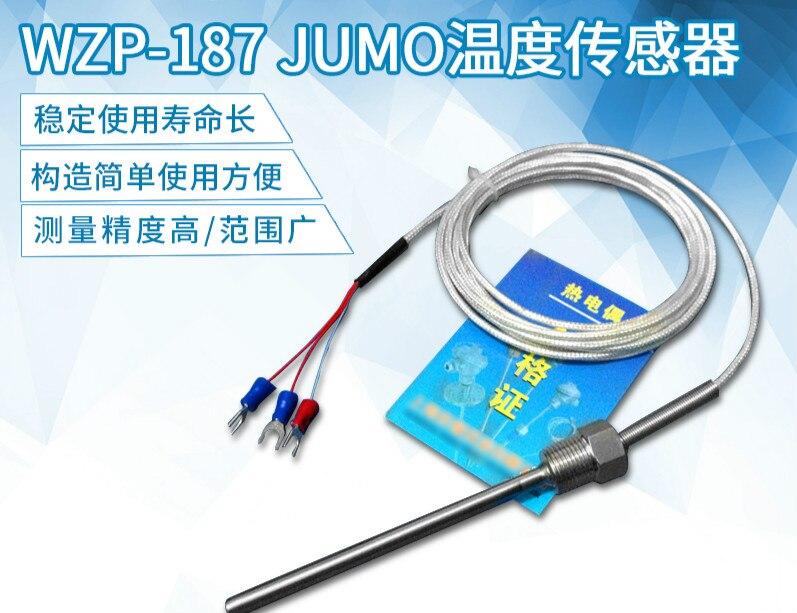 Wzp-187 JUMO Temperature Sensor Temperature Probe PT-100 Thermal Resistance Waterproof PT100 Class A