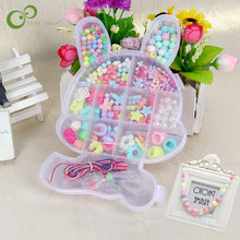DIY Handmade Beaded Toy with Accessory Set Children Creative Girl Jewelry Making Toys Educational Toys Children Gift ZXH(China)