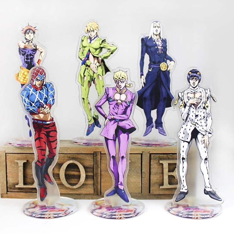 JoJo/'s Bizarre Adventure Acrylic Figure Stand Desktop Decoration Accessories