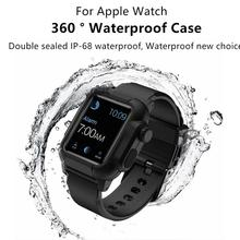 NEW Various styles of IP-68 waterproof straps For Apple Watch
