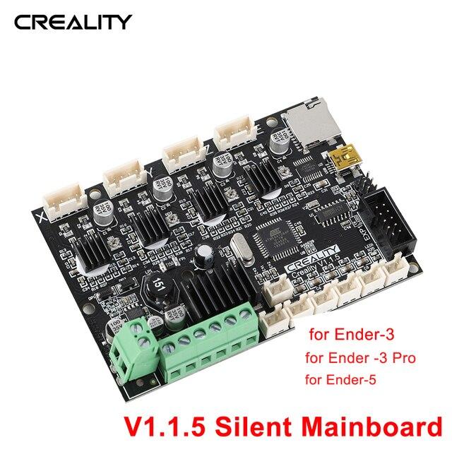 Creality 3D Basis Control Board Mutter Bord V 1.1.5 Stille Mainboard für Ender 3 / Ender 3 Pro / Ender 5 DIY 3D drucker Kit