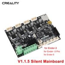 Creality carte de contrôle 3D, carte mère V1.1.5, carte mère silencieuse pour Ender 3 / Ender 3 Pro/Ender 5, Kit dinstallation autonome