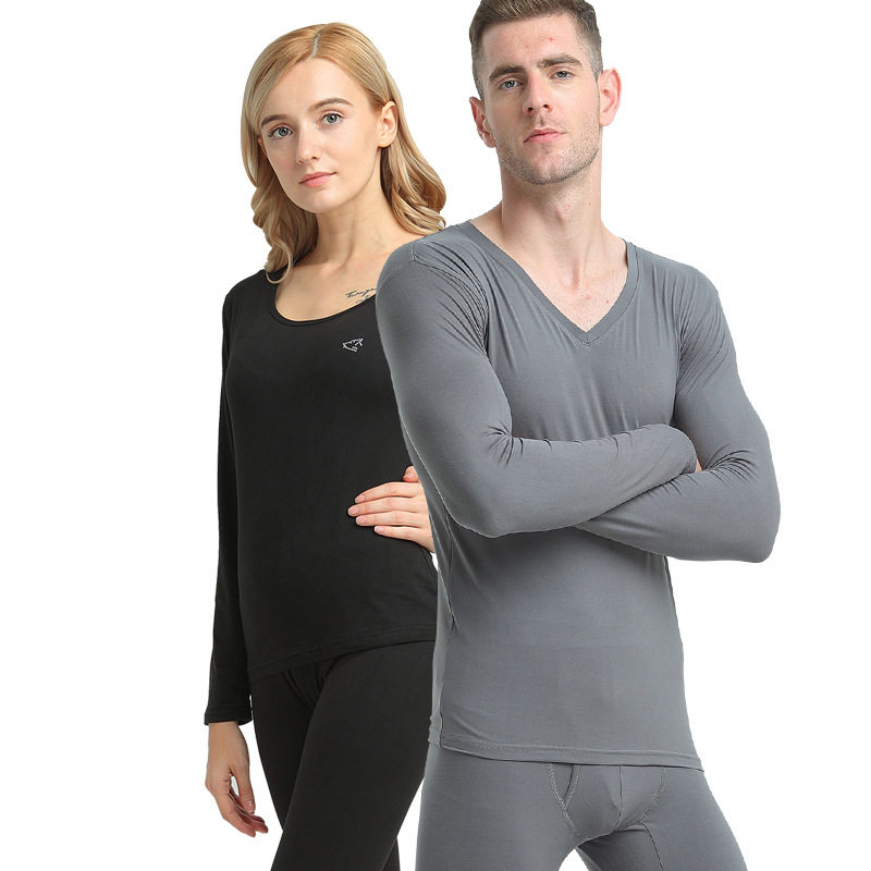 New Hot Women Men Seamless Elastic Thermal Underwear Inner Wear Winter Warm Clothes YAA99
