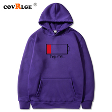 Spring Hooded Sweater Male Korean Version of The Trendy Man Wearing A Cap Sports Hoodie Men's Printed Jacket MWW222