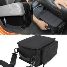 Органайзер для 2011-2019 2020 2021 Jeep Wrangler JL JLU JK Sports Rubicon Gladiator JT сумки для хранения заднего сиденья под сиденьем коробка