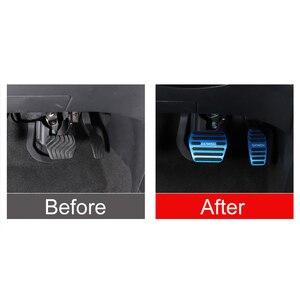 Image 5 - Pedal de freno y acelerador de coche de aleación de aluminio, protector de embrague para Nissan Qashqai j11 2013 2018 2014 2018 accesorios