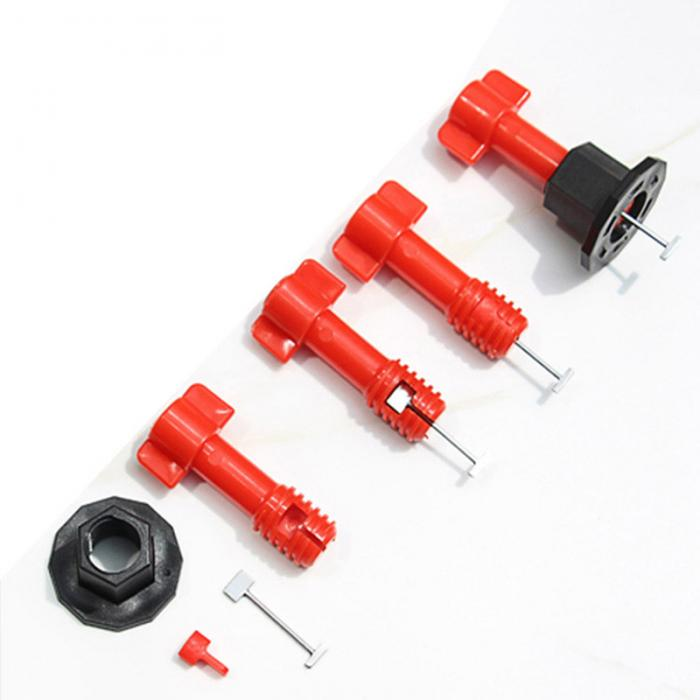 75 Pcs Reusable Anti-Lippage Tile Leveling System Locator Tool Ceramic Floor Wall HYD88 image