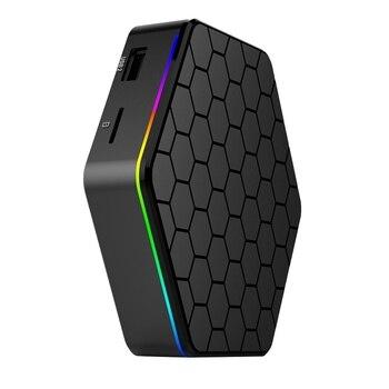 T95Z PLUS Smart Set Top Box 2G + 16G Core Smart TV Box Player (EU PLUG)