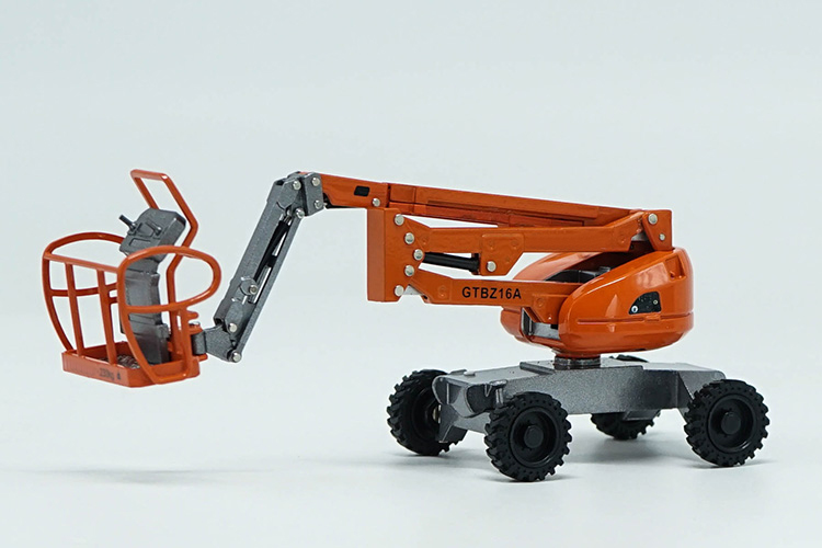 Special Offer  1:40  GTBZ16A  Self-propelled Crank Lift  Aerial Work Truck  Engineering Vehicle  Alloy Collection