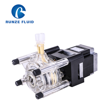Runze SN15 High Flow Peristaltic Pump with 57 Stepper Motor for Filling Machine/lDetergents Dose/Chemicals Mertering Laboratory compact portable dosing peristaltic pump for laboratory microfluidic chemicals