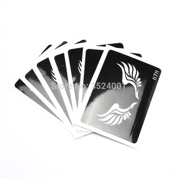500Pcs Temporary Tattoo Stencils For Body Art Painting Mixed Designs Free Shipping