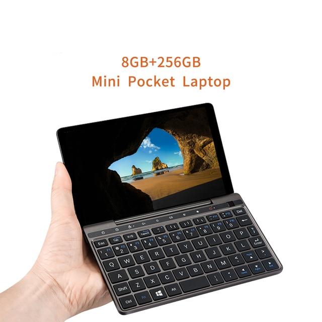 GPD Pocket 2 Pocket2 8GB 256GB 7 Inch Touch Screen Mini PC Pocket Laptop Notebook CPU Intel Celeron 8100Y Windows 10 Systerm 2