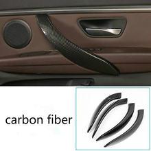 4 шт накладка на внутреннюю дверную ручку для bmw 3 серии f30