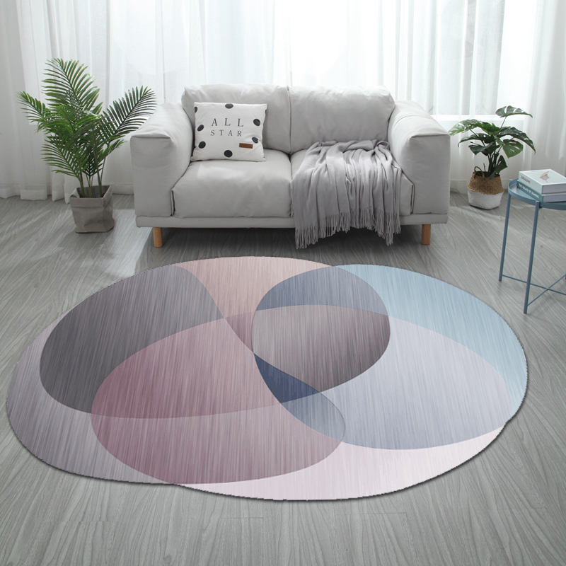 Modern Gray Yellow White Geometric Pattern Big Size Carpet Customize Living Room Floor mat Bedroom Plush Rug Bathroom Door mat Color : Blue, Size : 180200cm
