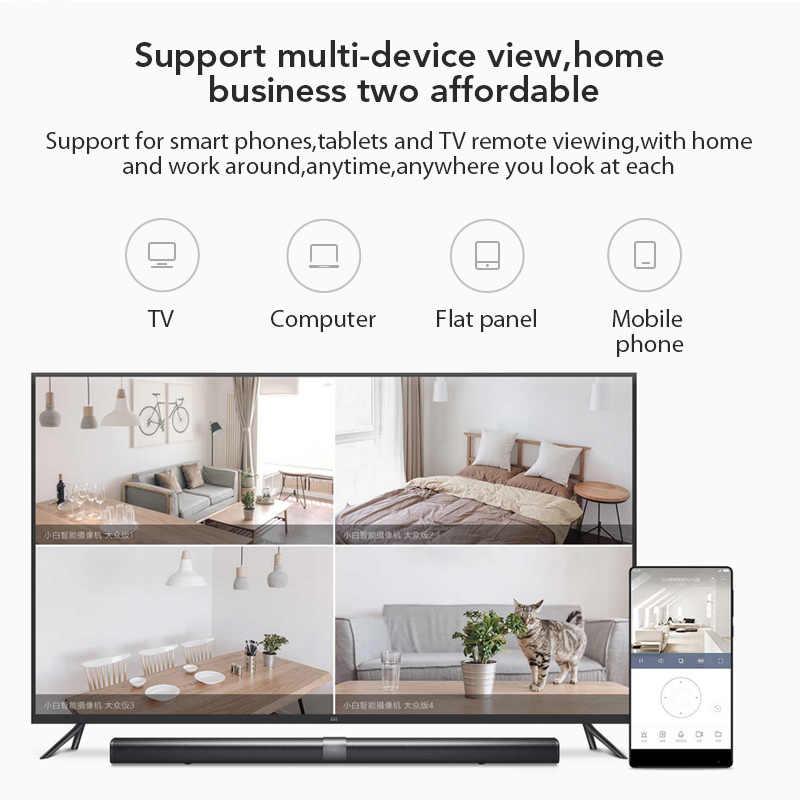Xiaobai Kamera Populer Versi 1080P HD Wifi Nirkabel Inframerah Malam Visi 100.4 Derajat IP Cam Rumah CCTV