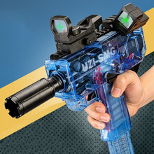 Jouets pneumatiques pour enfants, fusil UZI, balles souples, Blaster électrique, tir en mousse EVA, fléchettes Airsoft, jouet d'arme de Sniper pour garçons