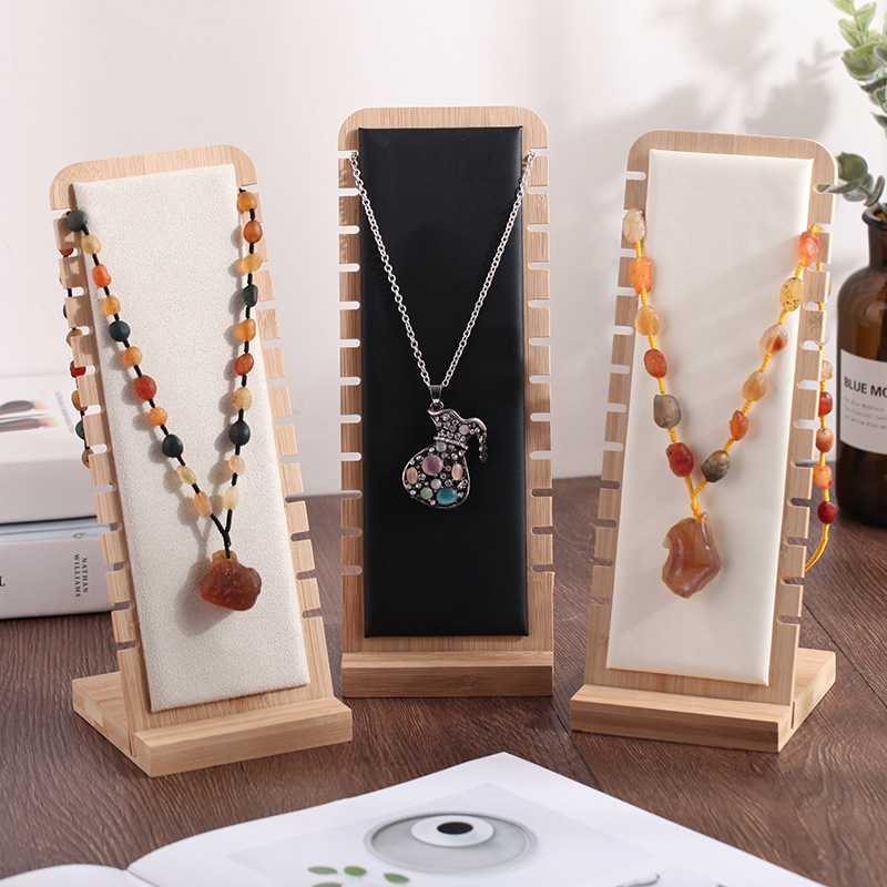 Pendant Necklace Chain Earring Jewelry Bust Display Holder Stand Showcase Rack Jewelry Display Stand Table Display