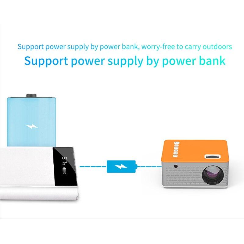 Novo hd mini projetor de vídeo portátil cinema em casa suporte do telefone móvel vídeo player filme jogo proyector-4