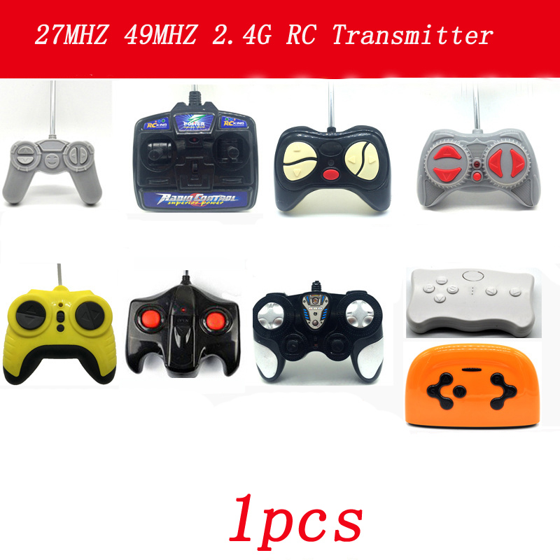 1pcs Children's Electric Car RC Trasmitter 2.4G <font><b>27MHZ</b></font> <font><b>40MHZ</b></font> 49MHZ <font><b>Remote</b></font> <font><b>Controller</b></font> for Boys Kids Toy Cars Vehicle <font><b>Controlling</b></font> image