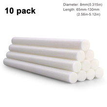 10 Packs 8mm Humidifier Cotton Swab Core Filter Wicks Sticks Replace Parts