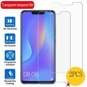 Перейти на Алиэкспресс и купить 2 шт. закаленное стекло для Huawei Nova 5 5i Pro 5T 5Z защита экрана 9H прозрачное Защитное стекло для Huawei P Smart 2019 Plus