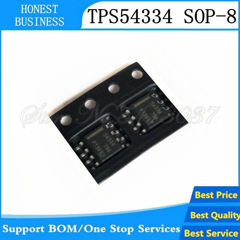 2pcs/lot TPS54334DDAR TPS54334DDA TPS54334 54334 SOP8