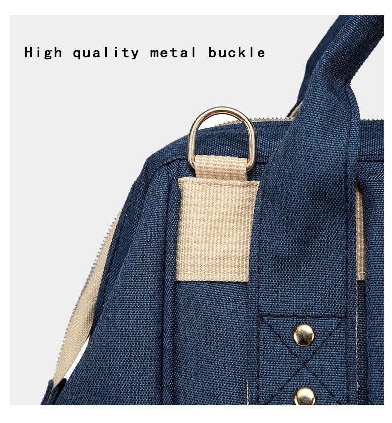 He072354905d54e6988407b8e3c8e66cbi Fashion Mummy Maternity Nappy Bag Waterproof Diaper Bag With USB Stroller Travel Backpack Multi-pocket Nursing Bag for Baby Care