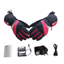 Red/Black Heated Gloves 6 Hours High Insulation USB Electric Winter Waterproof Breathable Thermal Heated Gloves for Men Women 19 все цены