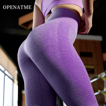 OPENATME Women Fitness Clothes High Waist Yoga Pants Fitness Seamless Leggings Gym Tights Sport Trousers Push Up Running Pants seamless yoga pants fitness leggings women high waist sport tights trousers push up gym running sport leggings