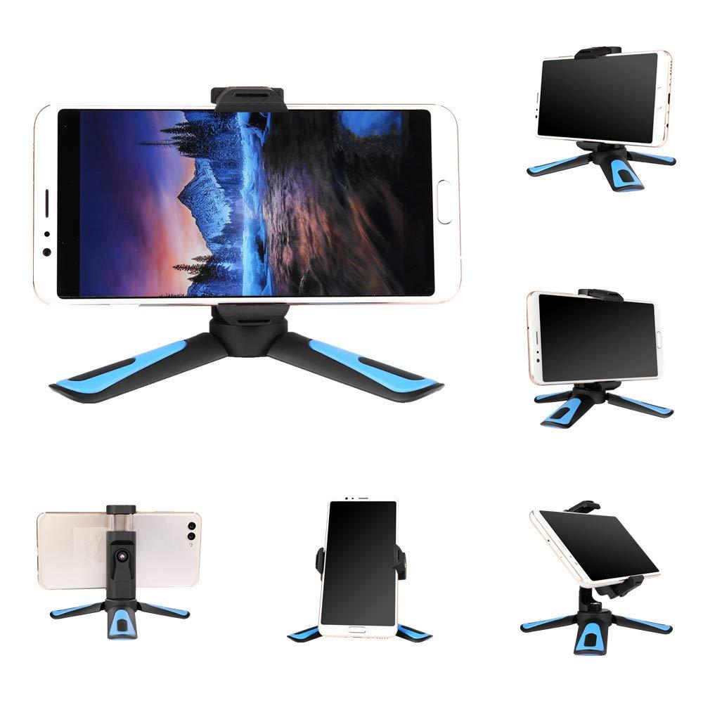 Xiletu 360 di Rotazione Verticale di Tiro 2 in 1 Mini Treppiedi Del Telefono Del Supporto Del Supporto per Il Iphone Max Xs X 8 7 più di Samsung S8 S9 Piexl 2 3