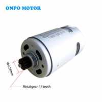 ONPO 10.8V 14 teeth RS-550VC-8518 DC motor for Replace DEWALT DCD710 electric drill cordles Screwdriver maintenance spare parts