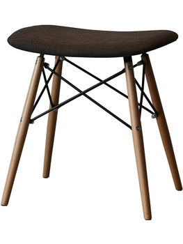 Creative Nordic porch solid wood simple personality small apartment casual makeup chair shoe shoe stool simple stool dining stoo