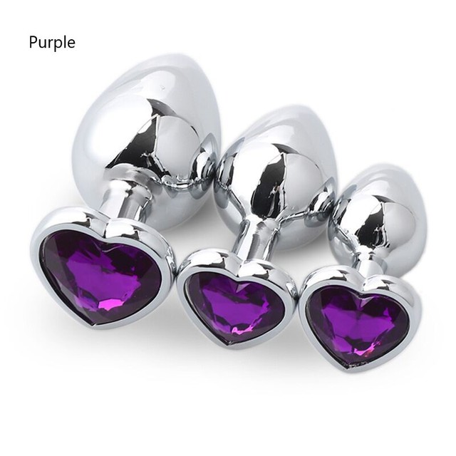 Stainless Steel Crystal Anal Toys Butt Plug Stainless Steel Anal Plug Sex Toys for Women Adult Sex Products Plug Anal Prostate 2