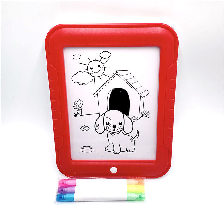 3D Magic Drawing Pad Children'S Educational Shining 3D Drawing Board Mental Toy LED Drawing Board