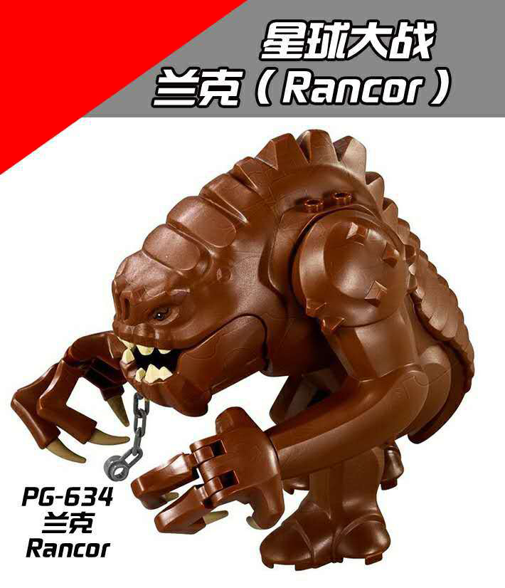 PG634 Movie Version Star Wars Series Ranke Enmity Market Compatible Legoing Monster Human Building Blocks Collection Selling