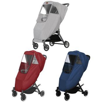 Wózek dziecięcy pokrowiec przeciwdeszczowy wózek dla dziecka pokrowiec przeciwdeszczowy wózek osłona przeciwdeszczowa przeciwkurzowa płaszcz przeciwdeszczowy wózek spacerowy wózek przeciwdeszczowy tanie i dobre opinie CN (pochodzenie) Poliester Baby Carriage Rain Cover